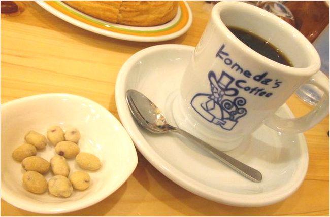 コメダ珈琲店の豆菓子
